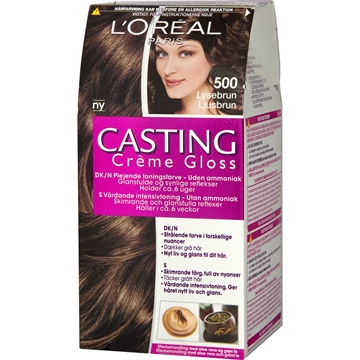 L'ORÉAL  Casting Creme Gloss 500 Light Brown  180ml