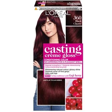 L'ORÉAL  Casting Creme Gloss 360 Black Cherry  180ml