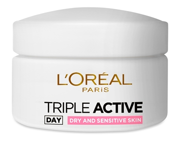 L'ORÉAL DAY CREAM TRIPLE ACTIVE DRY & SENSITIVE 24H 50ML