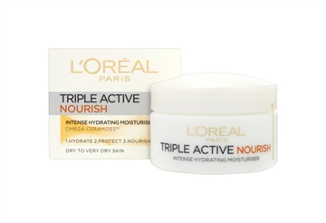 L'ORÉAL DAY CREAM TRIPLE ACTIVE NOURISH 24HR 50ML