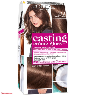 L'Oréal  Casting Creme Gloss 513 Iced Truffle  180ml