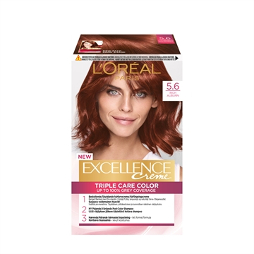 L'ORÉAL  Excellence 5.6 Rich Auburn 5.6 192ML