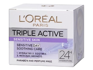 L'Oréal  Triple Active Sensitive Skin 50 ml
