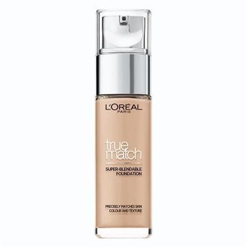 L'Oreal Paris True Match Foundation 1N Ivory Pumpflaska Vätska 30 ml