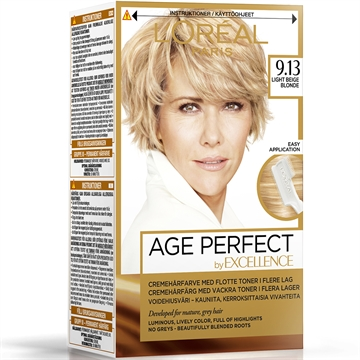 L'ORÉAL  Excellence Age Perfect 9.13 Light Beige Blonde  180ml