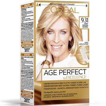 L'ORÉAL  Excellence Age Perfect 9.31 Light Golden Blonde  180ml