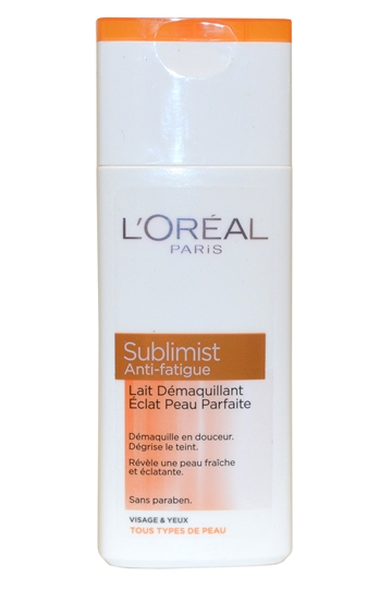 L'Oréal Paris Sublimist by L^Oreal Cleansing Milk 200ml Face and Eyes All Skin Types