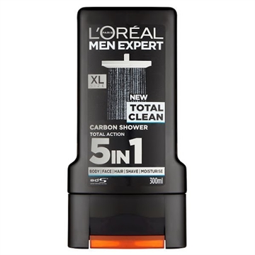 L'ORÉAL MEN EXPERT SHOWER GEL TOTAL CLEAN 300ML