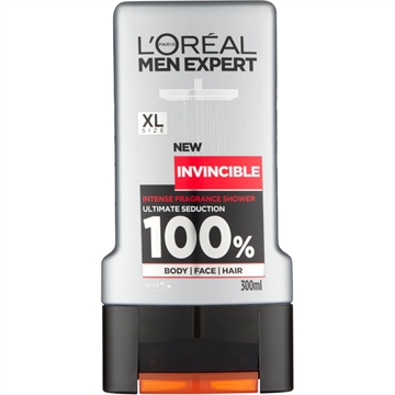 L'ORÉAL MEN EXPERT SHOWER GEL INVINCIBLE 300ML