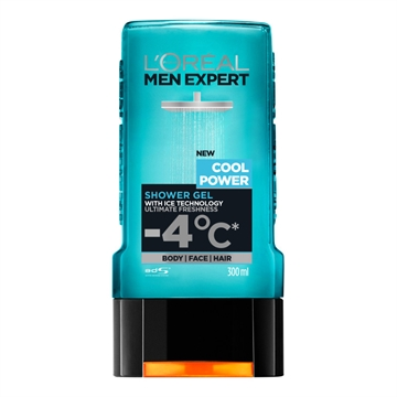 L'Oréal  Men Expert Cool Power Shower Gel 300ml