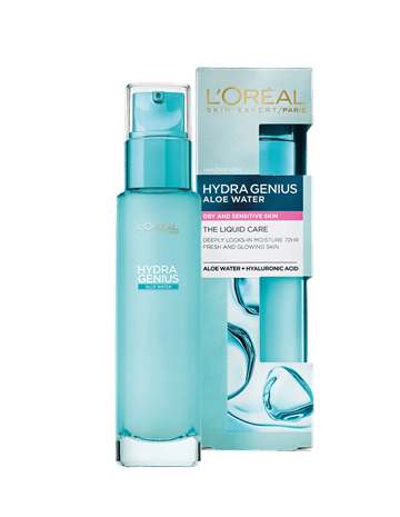 L'Oréal Paris Hydra Genius Water-Gel Care Dry Skin 70 ml