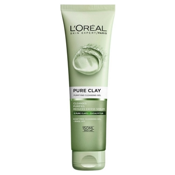 L'Oréal Paris Pure Clay Purifying Cleansing Gel Green 150ml