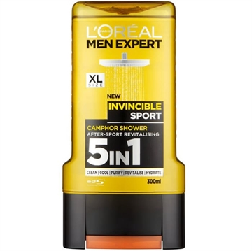 L'ORÉAL MEN EXPERT SHOWER GEL INVINCIBLE SPORT 300ML