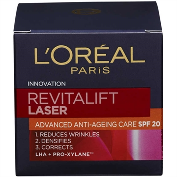 L'Oréal  Revitalift Laser Day Cream SPF 20 50ml