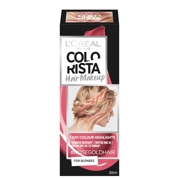L'Oréal  Colorista Hairmakeup 7 Rosegold 7 30 ml