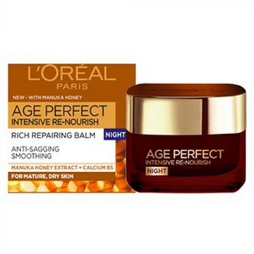 L'OREAL AGE PERFECT 50ML MANUKA HONEY NIGHT CREAM