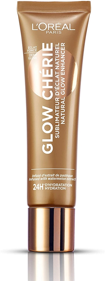 L'Oreal Glow Cherie Natural Glow Enhancer Lotion, 04 Deep Glow