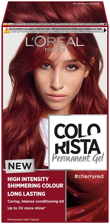 L'Oréal  Colorista Permanent Gel #Cherryred  204 ml