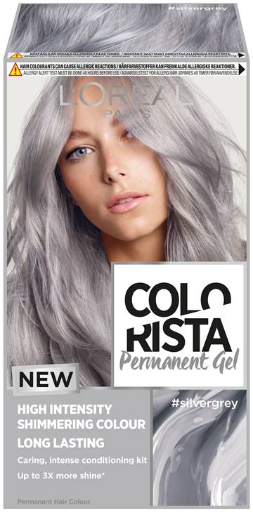 L'Oréal  Colorista Permanent Gel #Silvergrey  204 ml