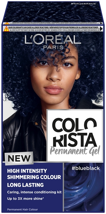 L'Oréal  Colorista Permanent Gel #Blueblack  204 ml