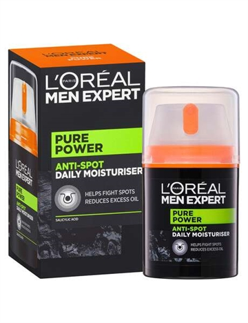 L'Oreal Pure Carbon Anti Spot Daily Care Moisturizer 50ml