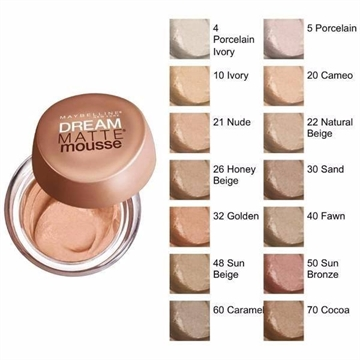 Maybelline Dream Matte Mousse - 48 sun beige - Foundation Pot Creme
