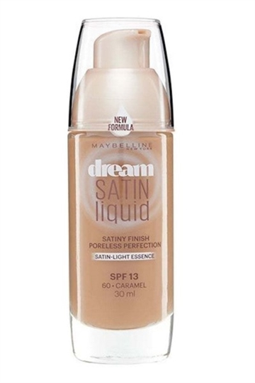 Maybelline Dream Satin Liquid - 60 Caramel - Foundation 30ml