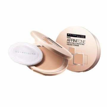 Maybelline Affinitone Pressed Powder Perfecting and Protecting 9g Dark Beige #42 Unifying Tone on Tone