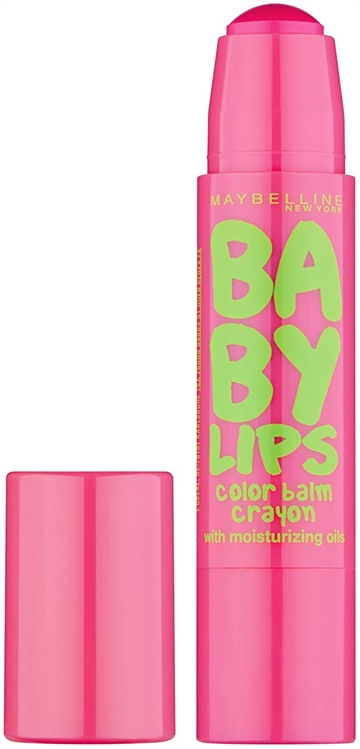 Maybelline Baby Lips Color Balm Crayon Strawberry Pop #15