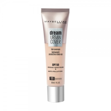 Maybelline Foundation Dream Urban Cover Foundation 111 Cool Ivory 30ml
