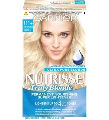 Garnier Nutrisse 111+Ultra Light Silver Blond