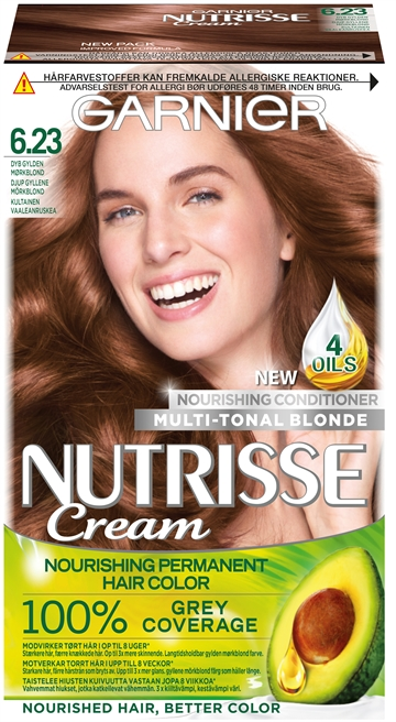 Garnier Nutrisse Deep Golden Dark Blonde 6.23