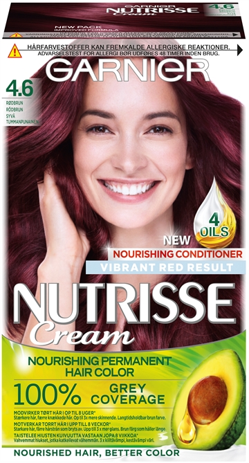 Garnier Nutrisse Morello Cherry 4.6,140 ml