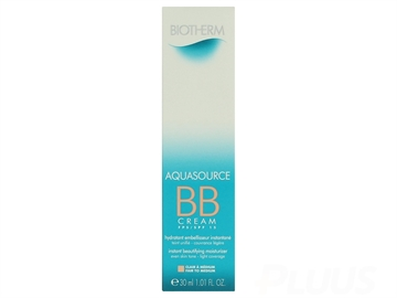 Biotherm Aquasource Bb Cream SPF15 30ml Fair To Medium - Instant Beautifying Moisturizer - All Skin Types