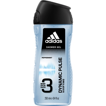 Adidas Shower 250ml 3in1 Dynamic Pulse