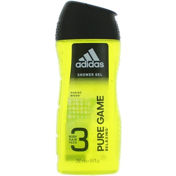 Adidas Shower 250ml 3in1 Pure Game