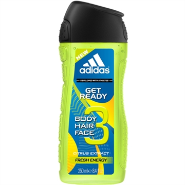 Adidas Shower 250ml 3in1 Get Ready
