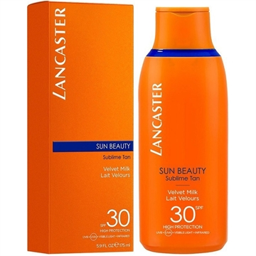 Lancaster Sun Beauty Velvet Tanning Milk SPF30 400ml High Protection