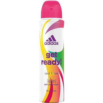 Adidas Deospray 150ml For Woman Get Ready