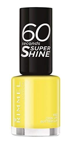 Rimmel 60 Seconds Super Shine Nail Polish 8ml 452 Chin Up