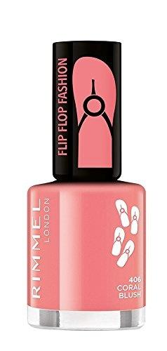 Rimmel 60 Seconds Flip Flop Shades Nail Polish 8ml  406 Colar Blush