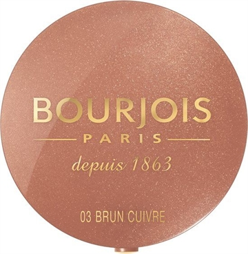 Bourjois Little Round Pot Blush 03 Brown 2,5G