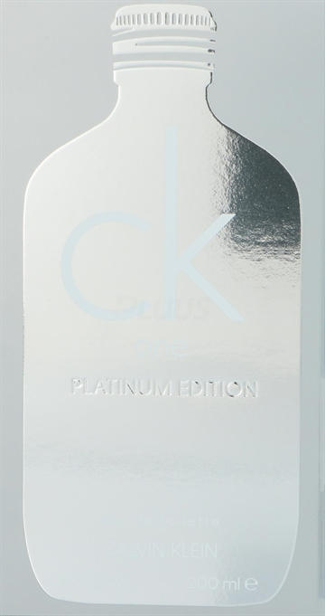 Calvin Klein CK One Platinum Edt Spray 200ml