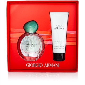 Armani Acqua Di Gioia Giftset 105ml EDP Spray 30ml/Body Lotion 75ml