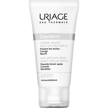 Uriage Dépiderm Anti-Brown Spot Hand Cream SPF15 50ml