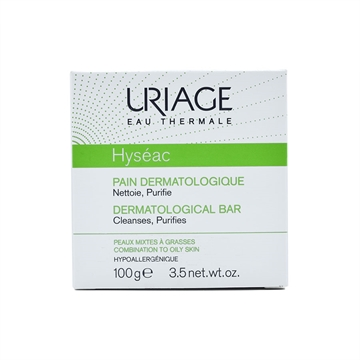Uriage Hyséac Dermatological Bar 100 Gr