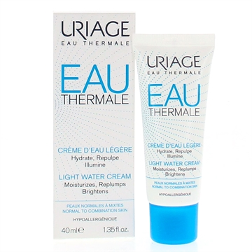 Uriage Light Water Cream 40ml All Skin Types