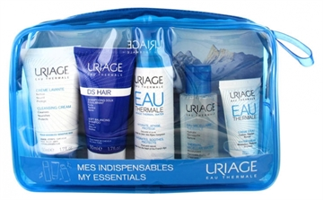 Uriage Eau Thermale My Essentials Set 215ml Cleansing Cream 50ml/Shampoo 50ml/Thermal Water 50ml/Micellar Water 50ml/Water Cream 15ml