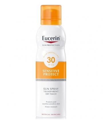 Eucerin Sun Protection solar spray 200 ml Factor 30 sensitive skin