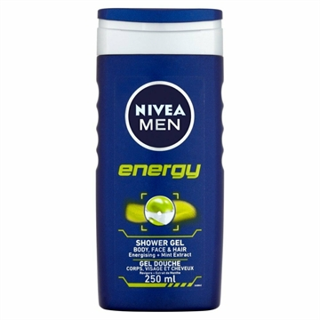 Nivea Men Shower Gel Energy 250ml